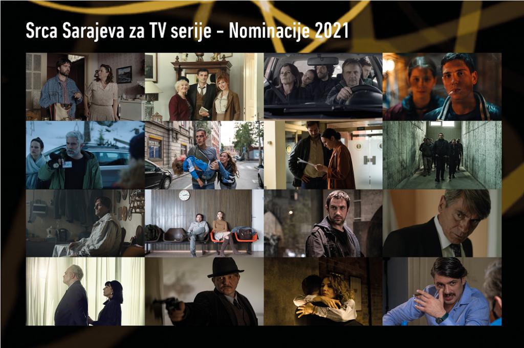 Nomniacije za 'Srca Sarajeva'
