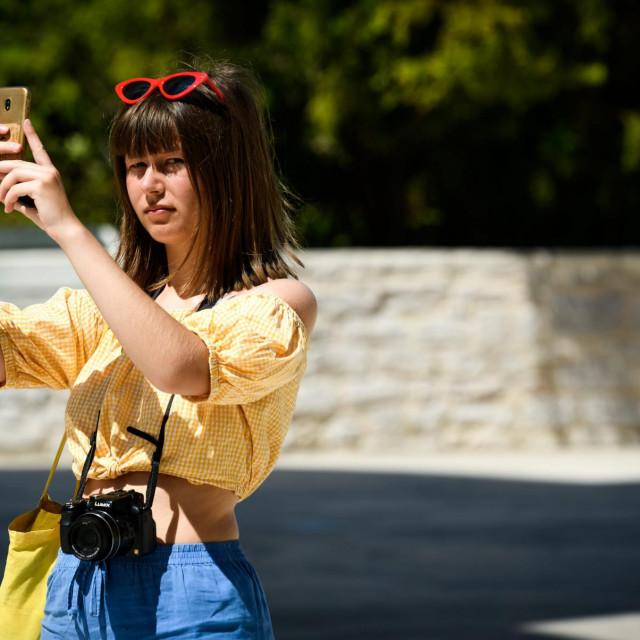 <br /> Ljeto je počelo i na šibenskim je ulicama sve više stranih turista<br />