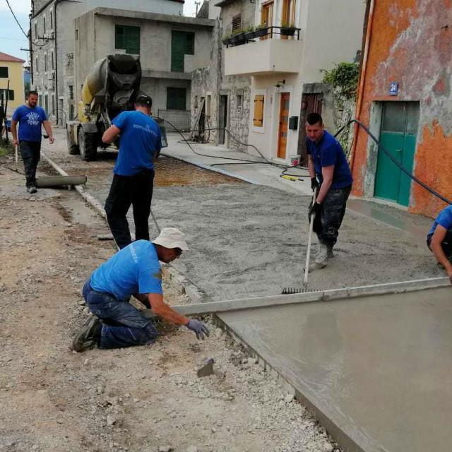 Pri kraju su radovi na projektu Aglomeracija i na otoku Krapnju