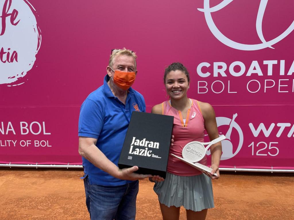 Portret s pobjednicom WTA turnira u Bolu na Braču