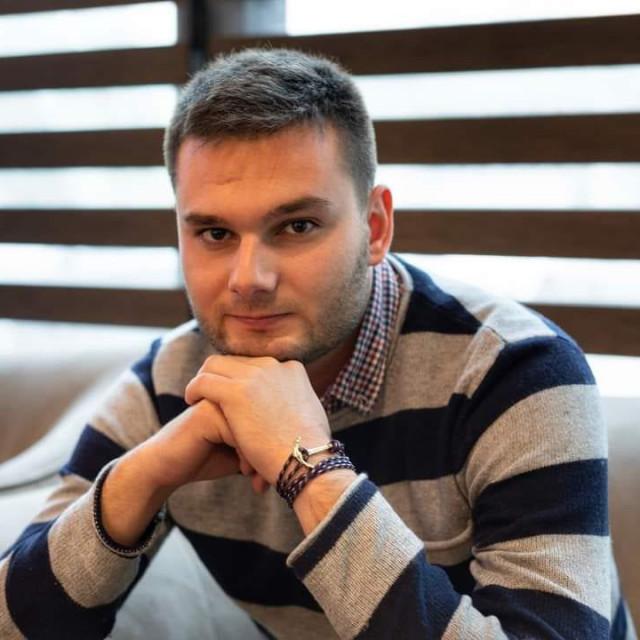 Tonći Kačić Bartulović, predsjednik Foruma mladih SDP-a