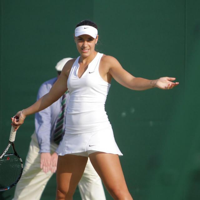 Ana Konjuh u Wimbledonu 2017. godine