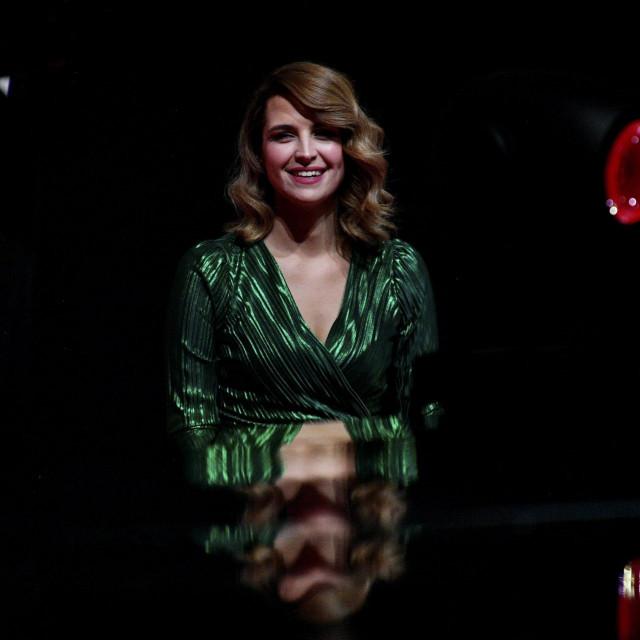 Doris Pinčić na vjenčanju Jelene Veljače družila se s TV producentom Janom Štedulom.