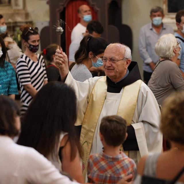 Blagoslov djece na blagdan sv. Antuna
