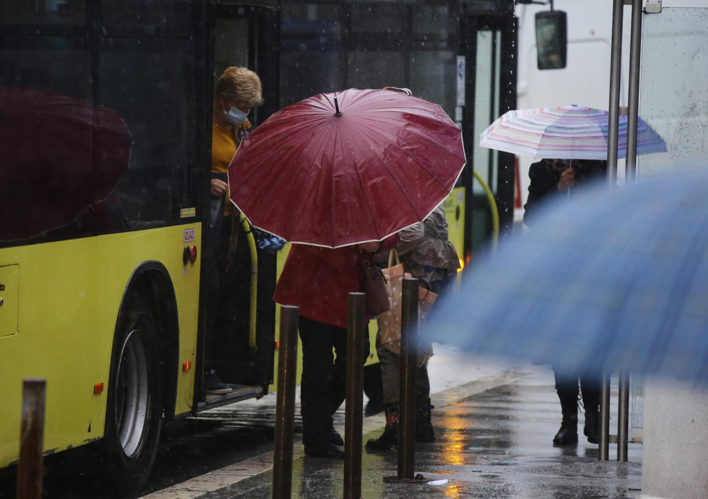 U Splitu se krajem tjedna očekuje kiša