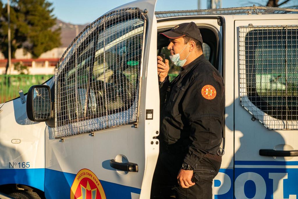 Policija u Podgorici
