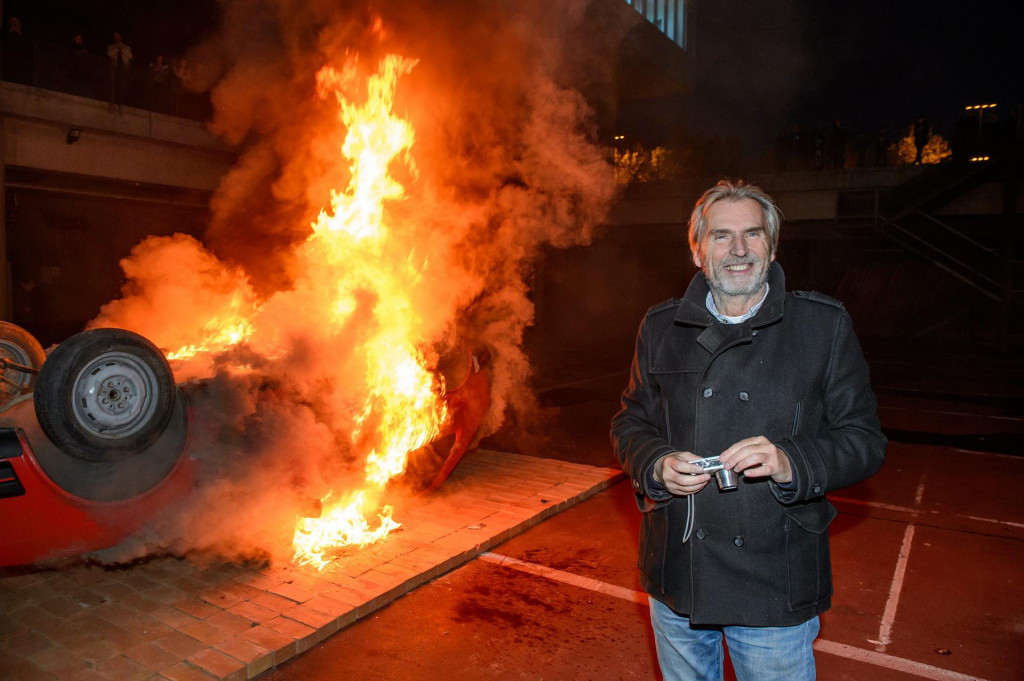 Dalibor Martinis zapalio je stari automobil Yugo 45<br />