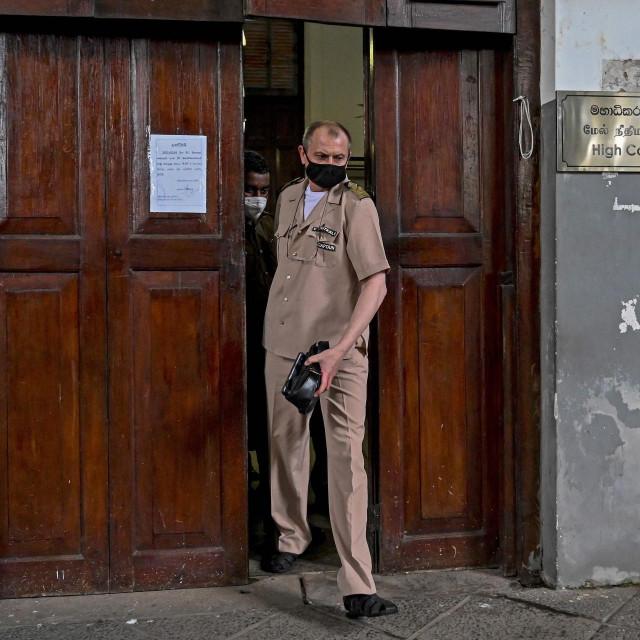 Kapetan X-Press Pearla Vitaly Tyukalo na sudu u Šri Lanki