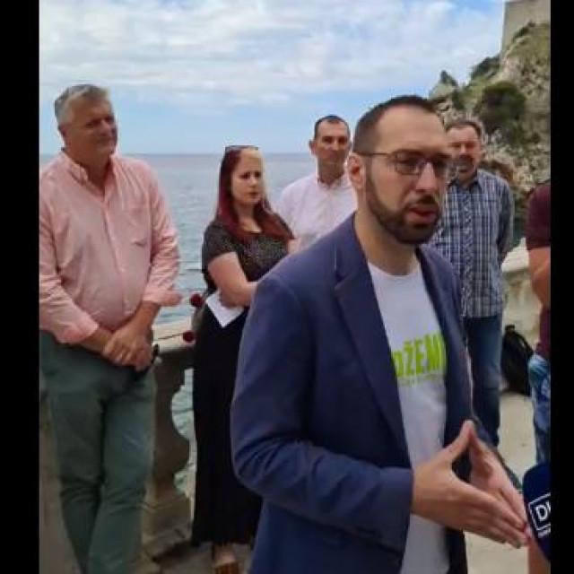 Tomislav Tomašević uoči parlamentarnih izbora 2020. u Dubrovniku