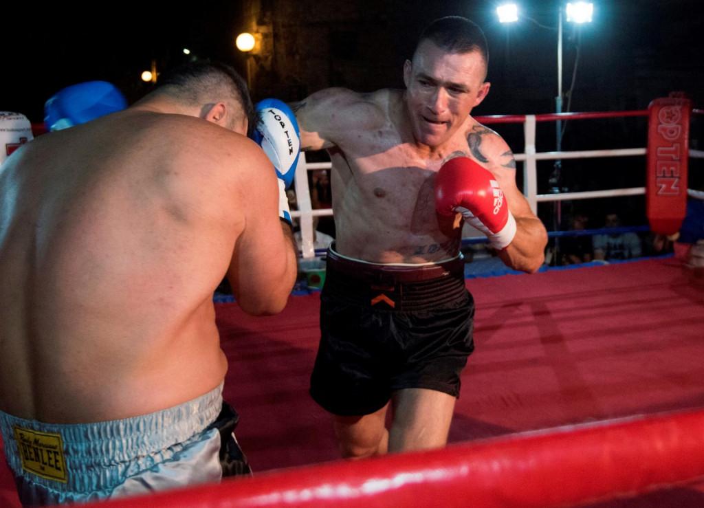 Abel Pešut u akciji u ringu snimljen pretprošlog ljeta<br />