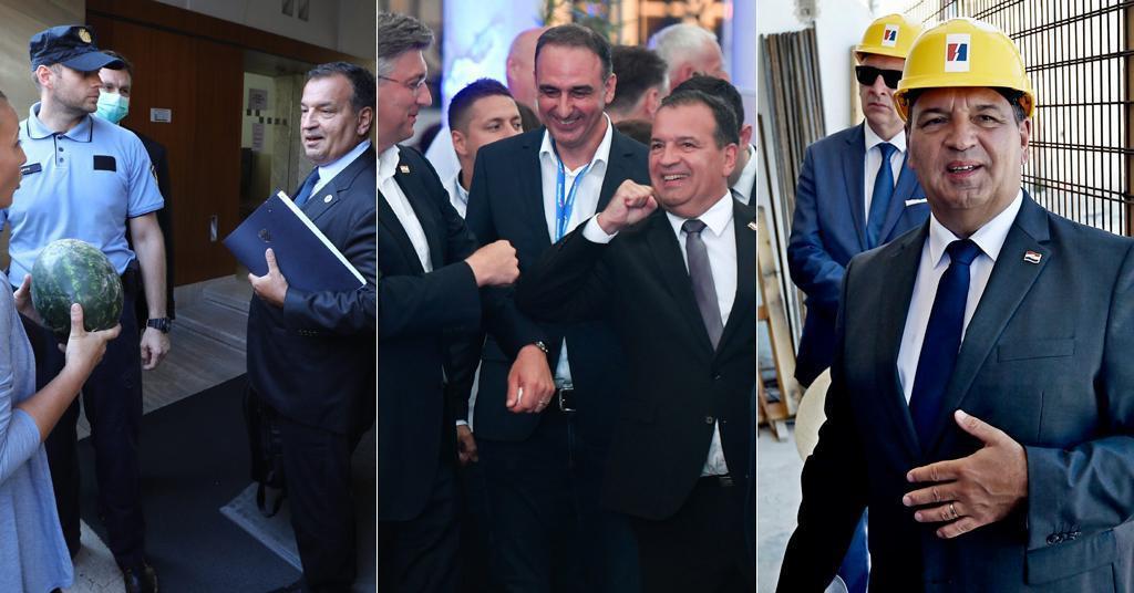 Dolazi na sjednicu Vlade, 10. rujna 2020.; prati rezultate izbora u HDZ-u, 5. srpnja 2020.; na gradilištu u Splitu, 30. lipnja 2020.