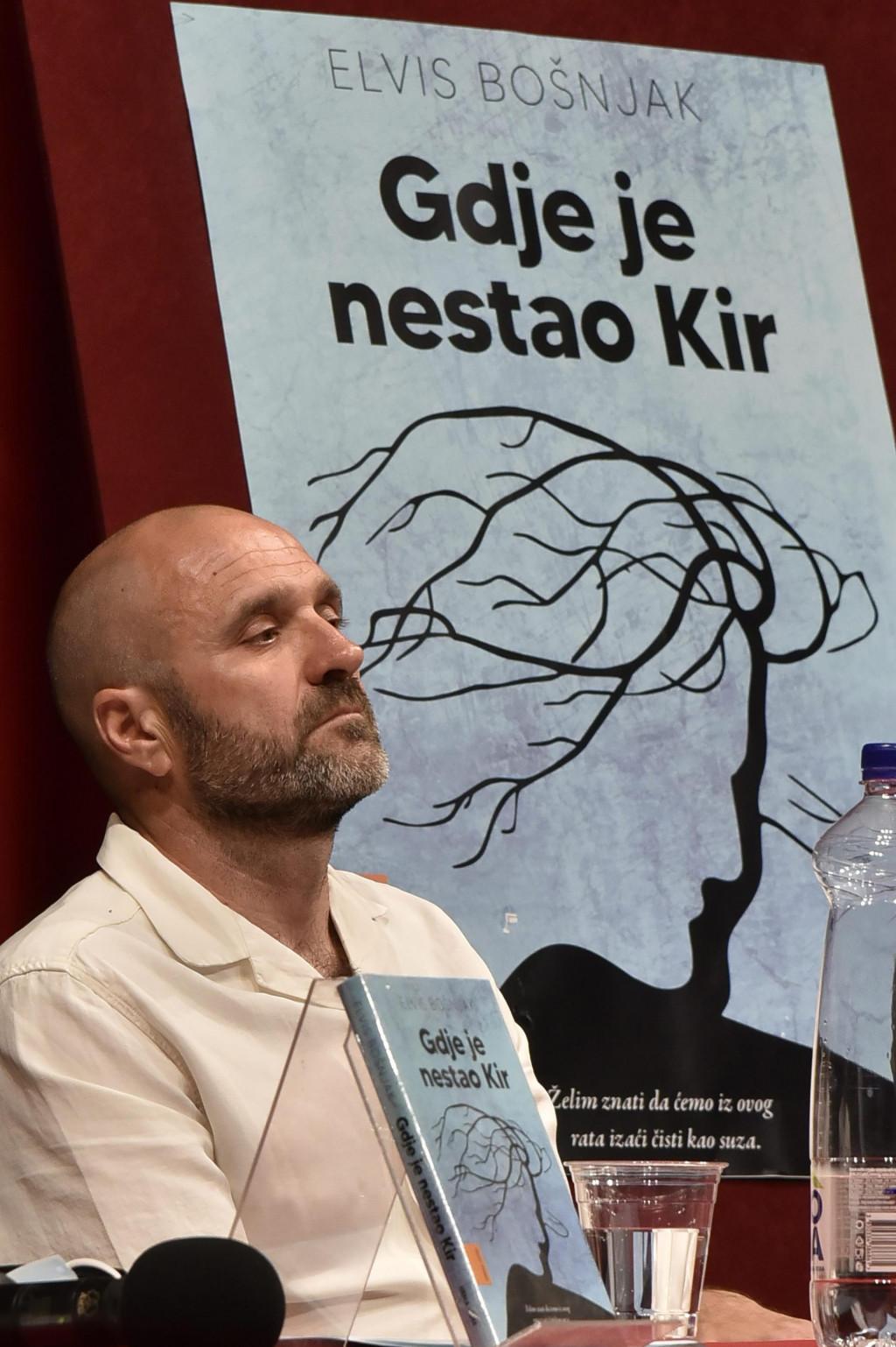 Elvis Bošnjak objavio je svoj prvi roman