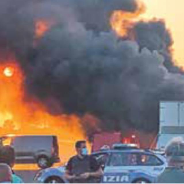 Napad na autocesti u Italiji