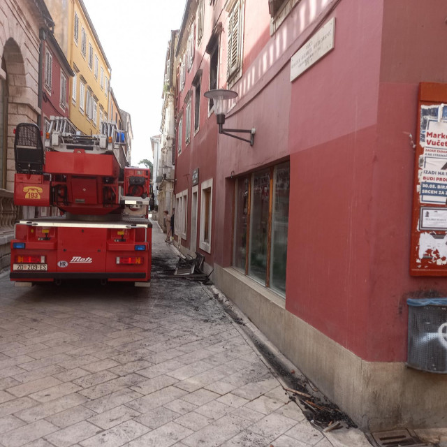 Dan nakon požara na Narodnom trgu