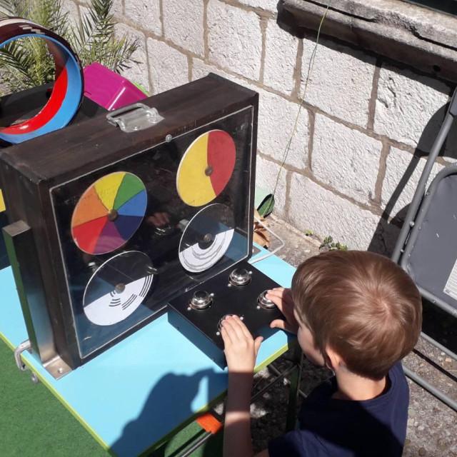 DV Ciciban na interaktivnoj izložbi u vrtu ljetnikovca Skočibuha