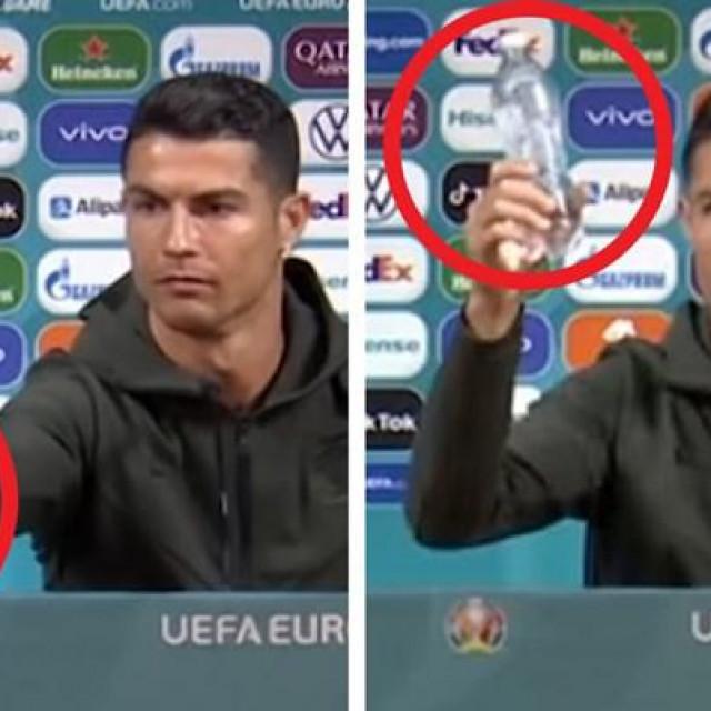 Cristiano Ronaldo i bočice, sad ih vidiš, sad ih ne vidiš<br />