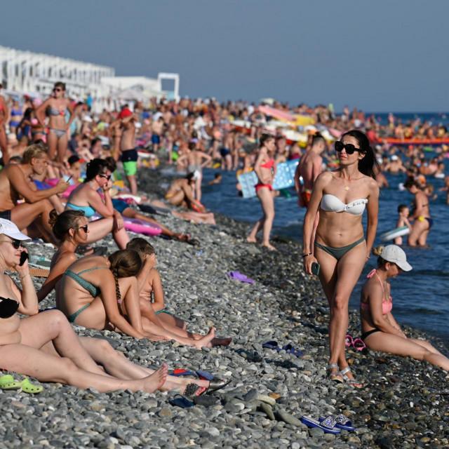 Krimske plaže još imaju dovoljno mjesta za primanje kupača<br />