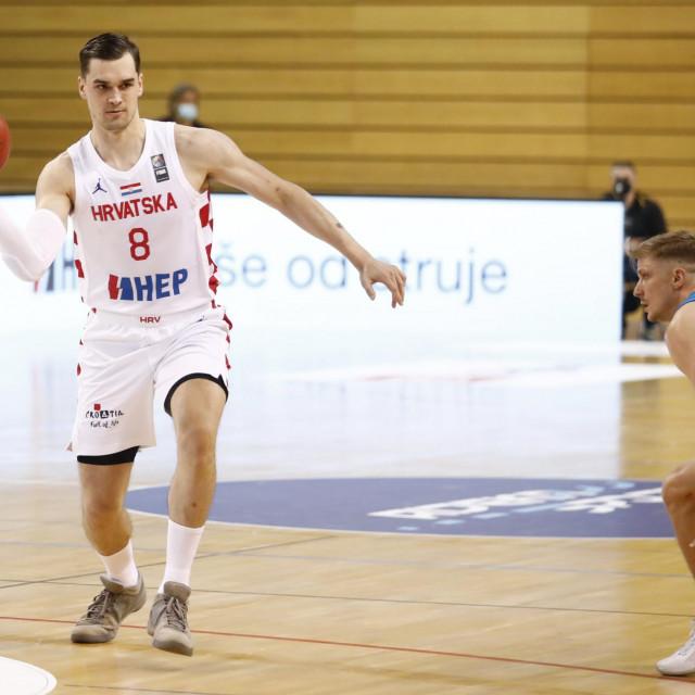 Mario Hezonja (Hrvatska) protiv Slovenije u Rijeci