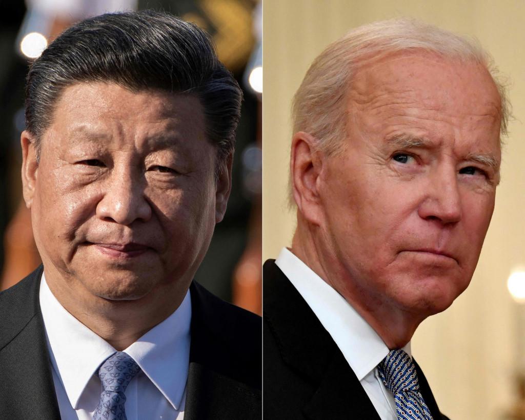Xi Jinping i Joe Biden