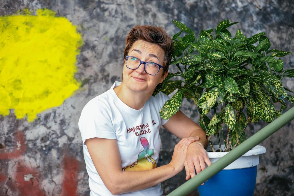 Komičarka Marina Orsag