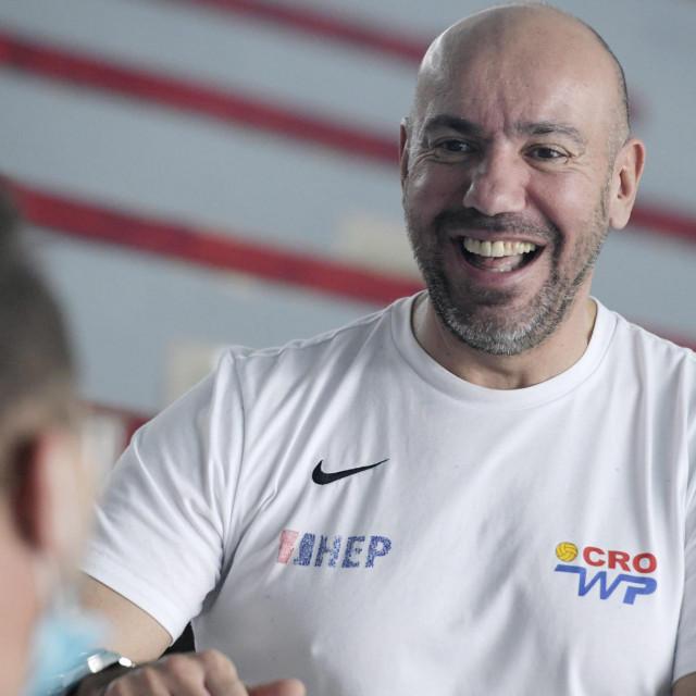 Šibenčanin Ivica Tucak, izbornik hrvatske vaterpolo reprezentacije