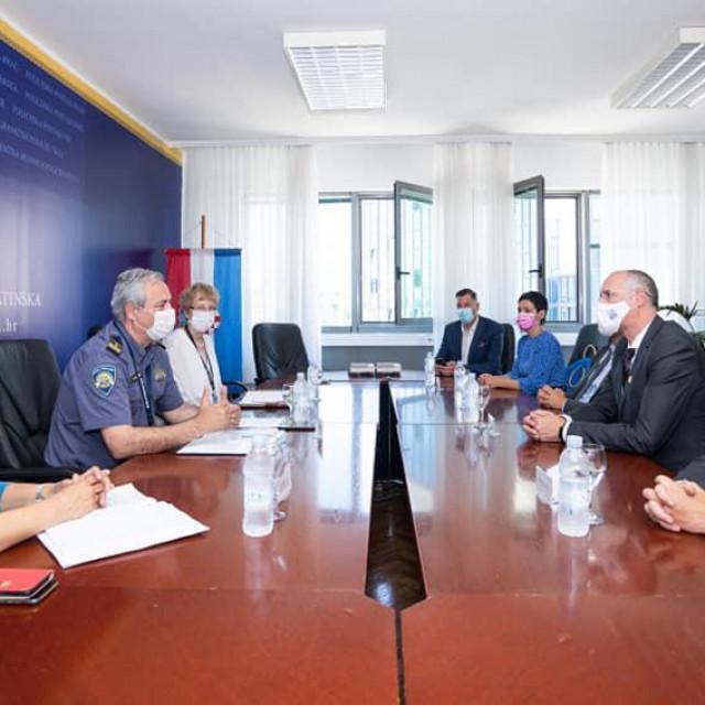 Nastupni posjet gradonačelnika PU splitsko-dalmatinskoj
