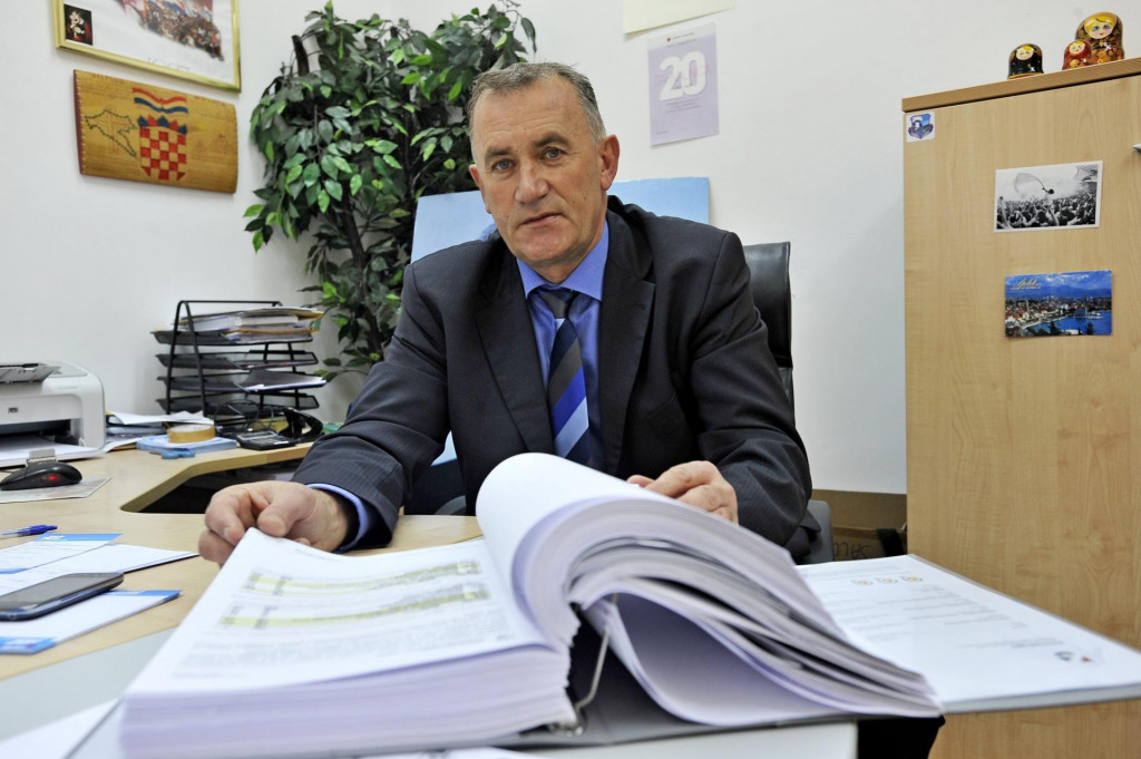 Dinko Bošnjak, vječni načelnik Hrvaca