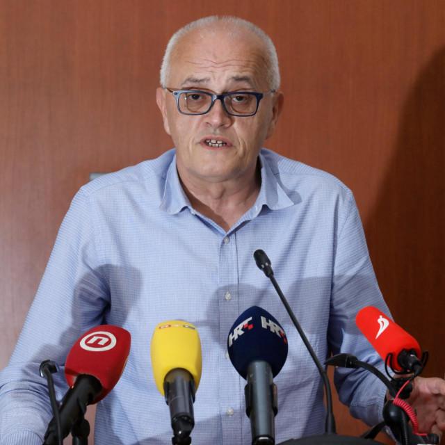 Konferencija za medije v.d. ravnatelja KBC Sestre Milosrdnice Zorana Vatavuka