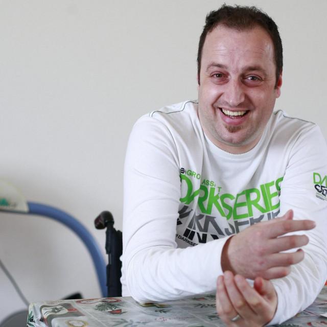 Andrija Lipanović, na žalost, dobro zna što znači biti prikovan za kolica