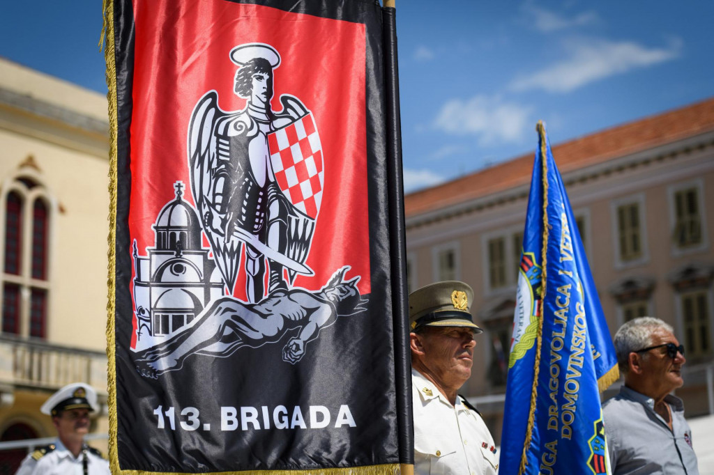 Svečanost obilježavanja 30 godina od osnivanja 113. brigade HV<br />