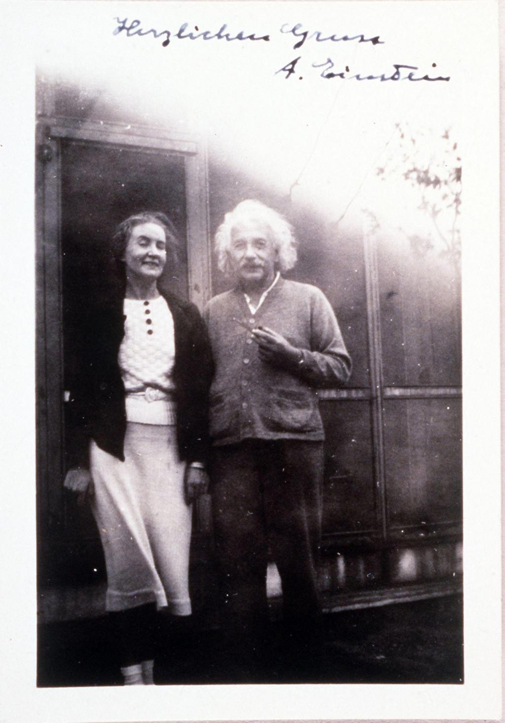 Margarita Konenkova i Albert Einstein
