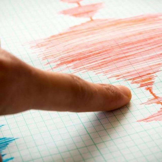 Potres/ Iustracija