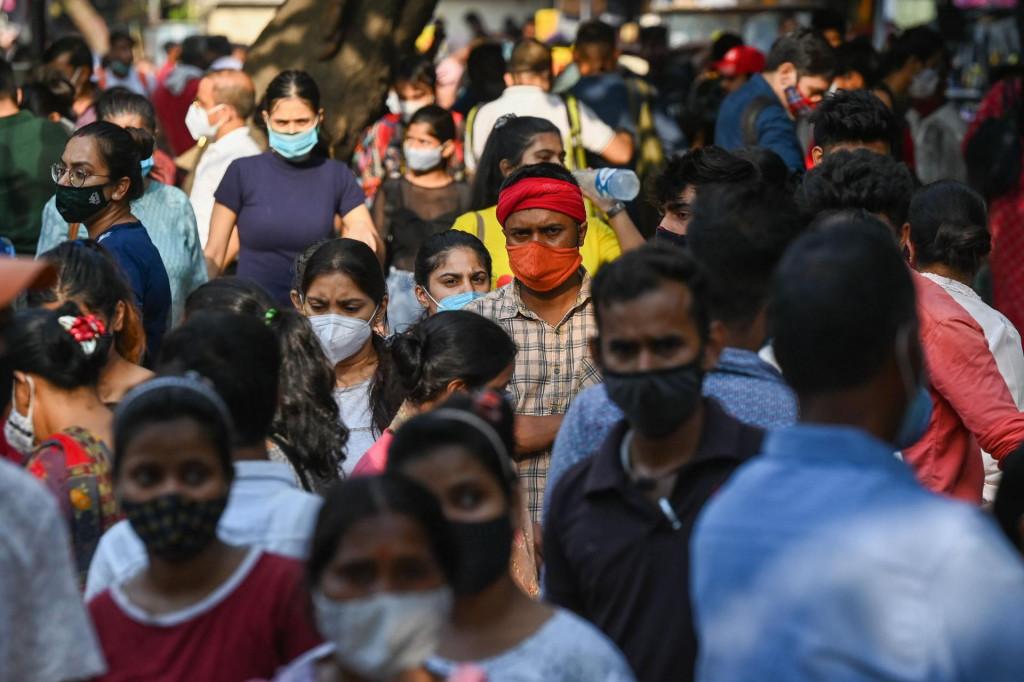 Poštivanje mjera u New Delhiju<br />