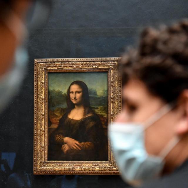 Prava, Leonardova slika u Louvreu nije na prodaju<br /> <br />
