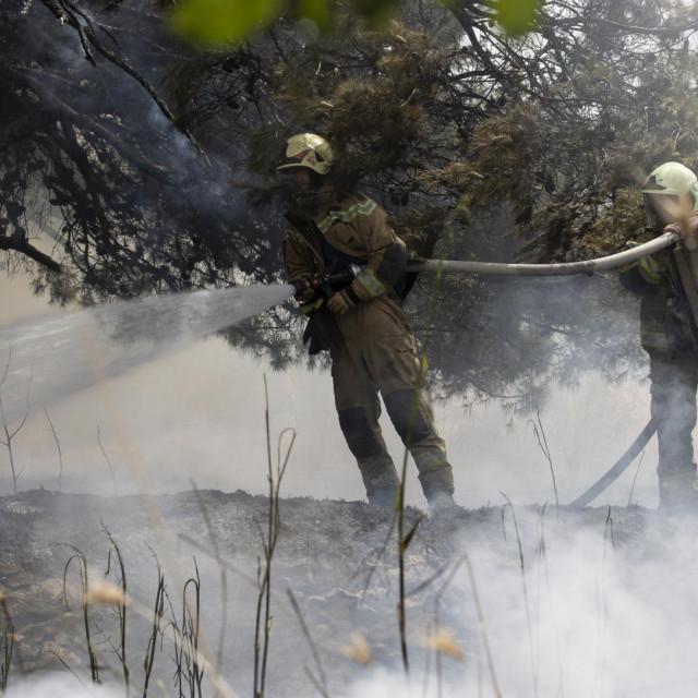 Požar u Jeretovoj ulici