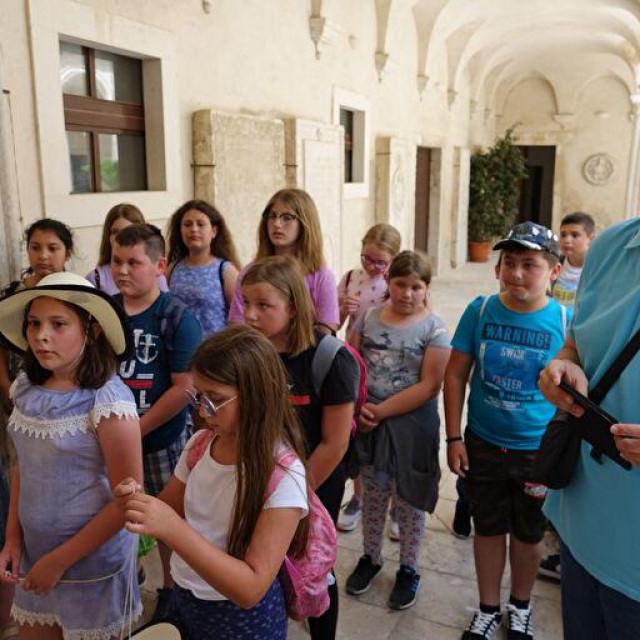 Učenici iz Gline u posjetu Zadru