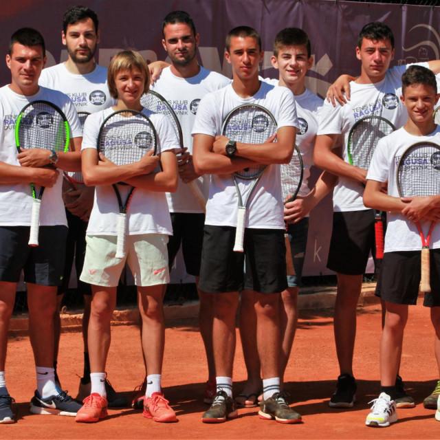 Tenis klub Ragusa nastupa u Trećoj hrvatskoj seniorskoj ligi
