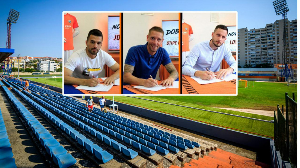 Josip Kvesić, Stipe Bačelić- Grgić i Lovre Rogić potpisali ugovore sa Šibenikom do ljeta 2023. godine.
