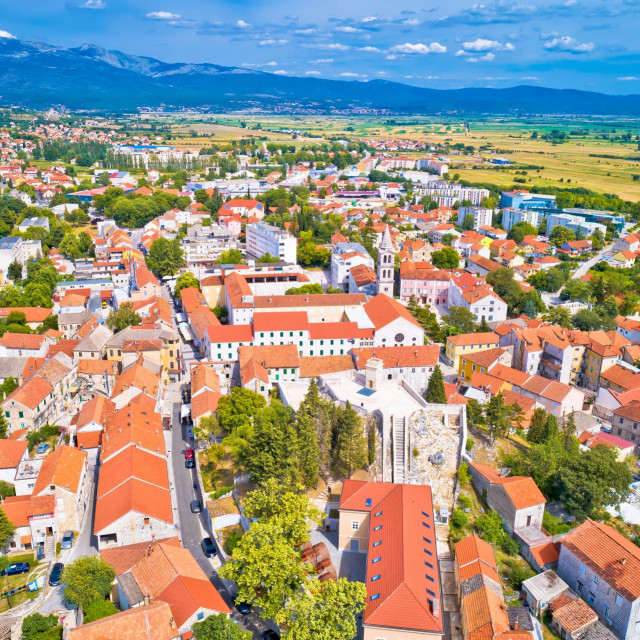 Grad Sinj - panorama<br /> <br />