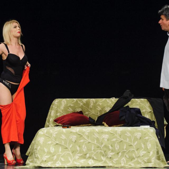 Vedran Mlikota i Mila Elegović za ranijeg zajedničkog nastupa u Zagvozdu