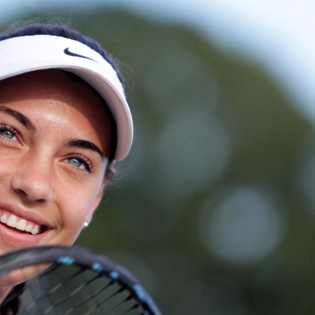 Ana Konjuh u Wimbledonu