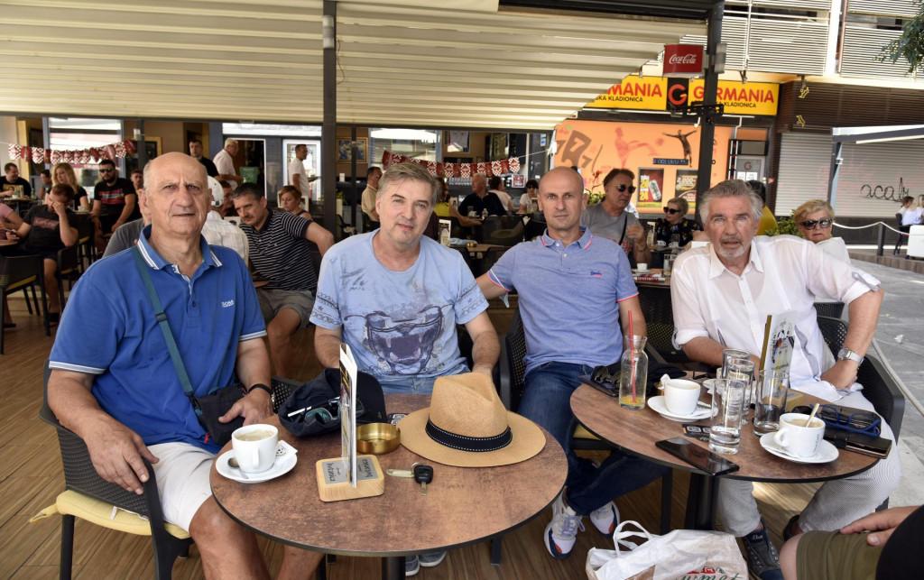 Na fotografiji: s lijeva - Šime Luketin, dr. Jurica Rakić, Aleksandar Veselinović i Zeljko Mijač