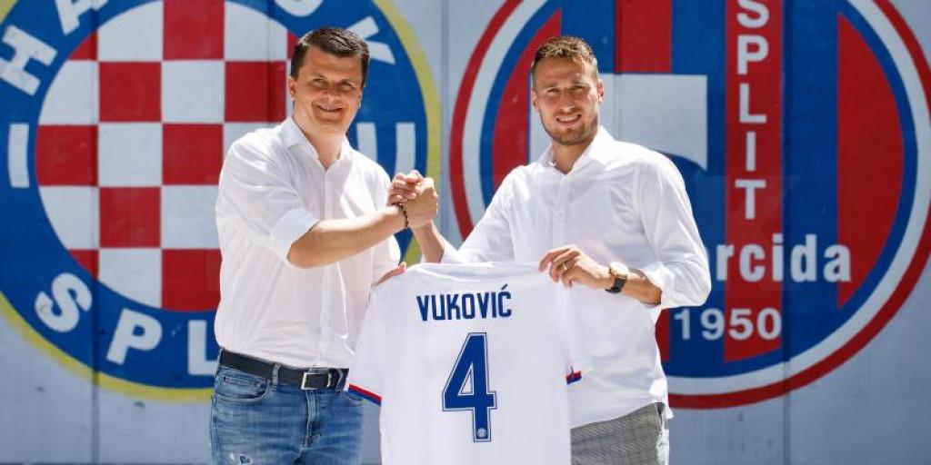 Josip Vuković se vratio na Poljudu