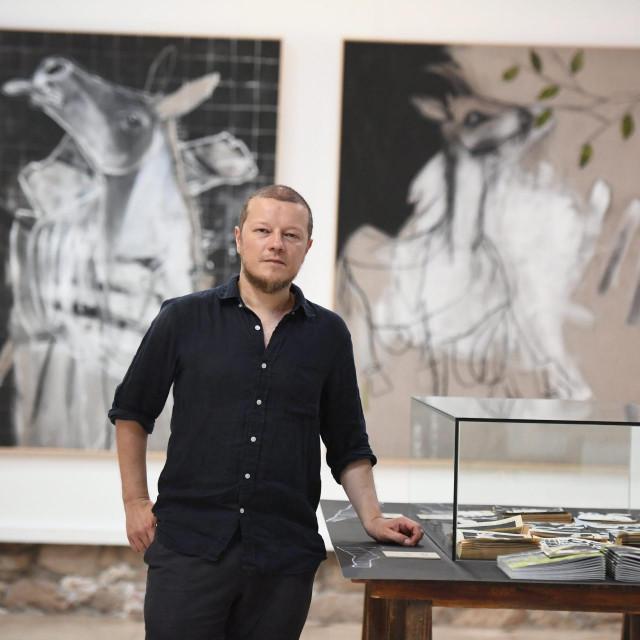 'Sve slike na ovoj izložbi prvi put se sada javno predstavljaju', ističe 40-godišnji autor