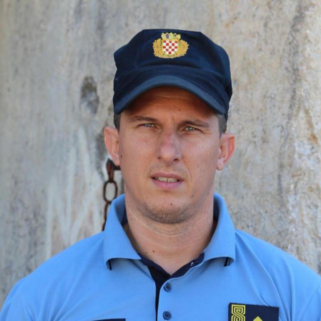 Matko Klarić, načelnik Postaje granične policije Gruda