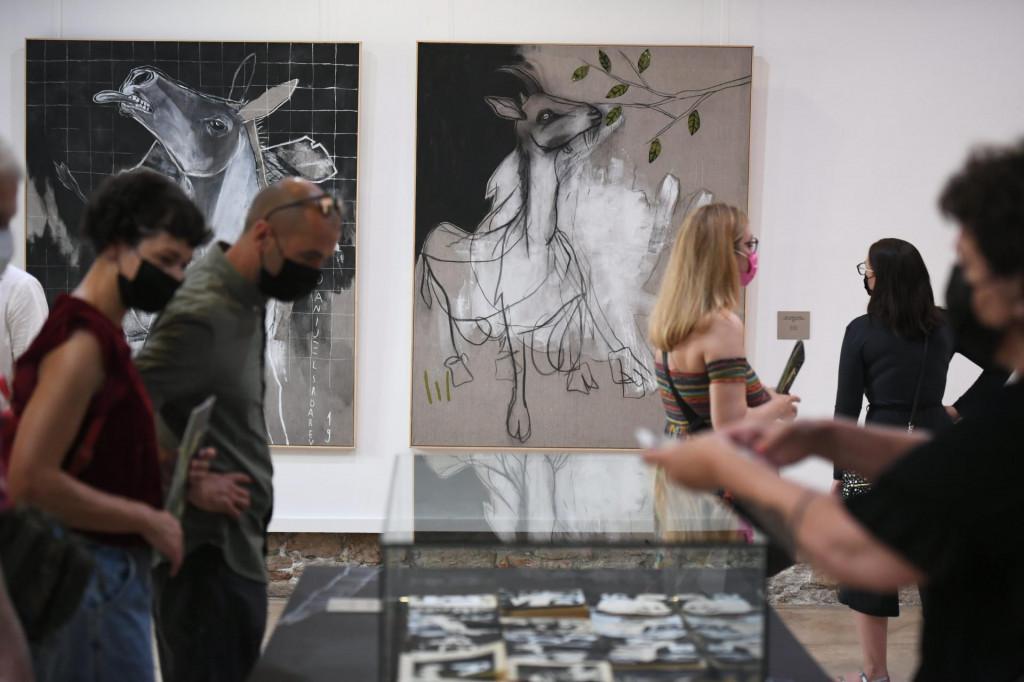 Publika je s velikom radošću primila izložena djela ilustratora Srdareva