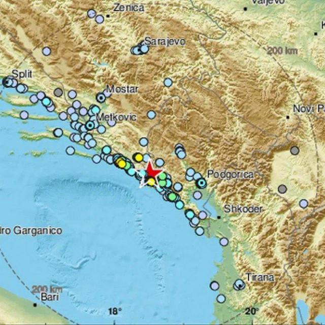Prema informacijama koje je objavio EMSC epicentar potresa bio je 14 kilometar sjeverno od Herceg Novog, a njegova magnituda 4.5 prema Richteru