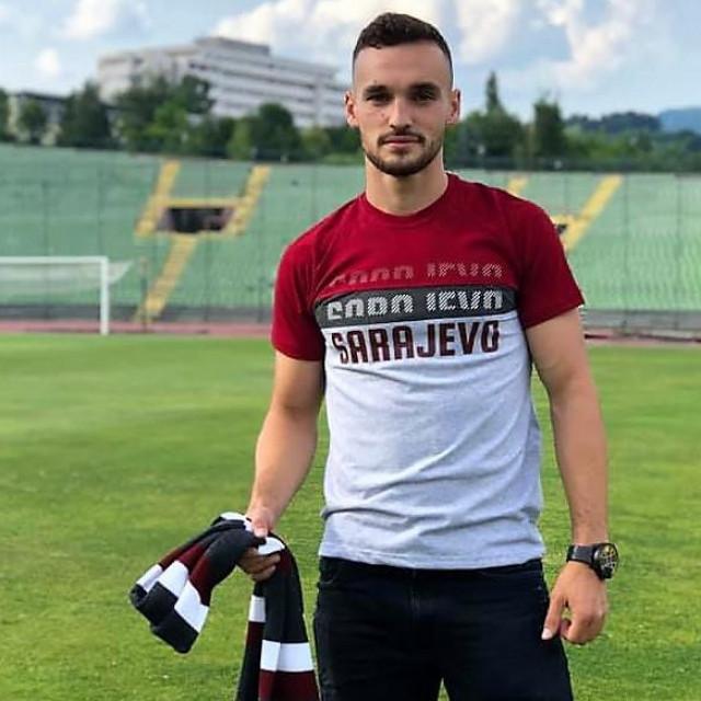 Vicko Ševelj, 20-godišnji Dubrovčanin, nogometaš Sarajeva