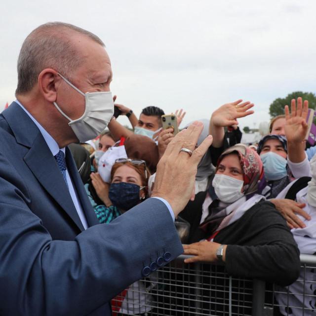 Erdogan na otvaranju gradilišta