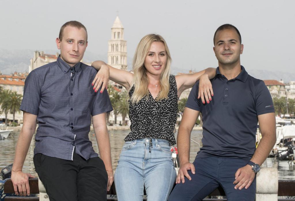 Ivan Štolfa, Natalia Maretić i Marko Vesanović-Dvornik